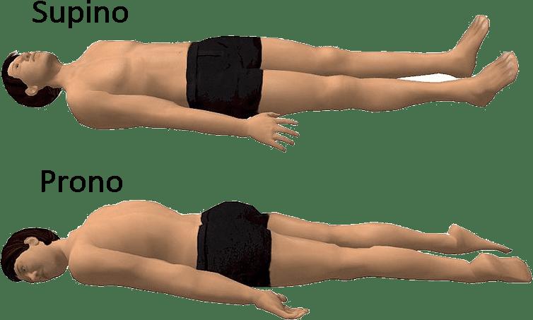 Decúpito y prono supino: posturas ideales para dormir