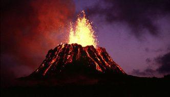 que tipos de erupciones volcánicas existen